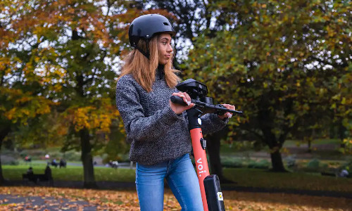 Two companies have partnered to develop computer vision for e-scooters.